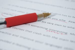 Self-Editing: The Mundane Side of Writing
