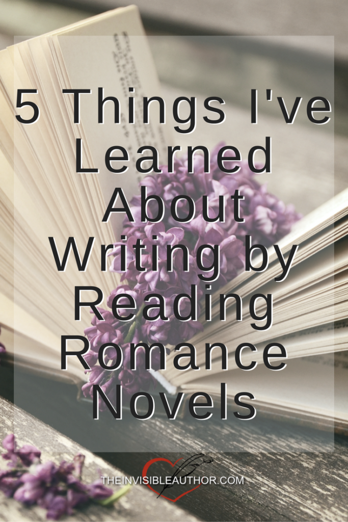 5 Things I've Learned About Writing by Reading Romance Novels
