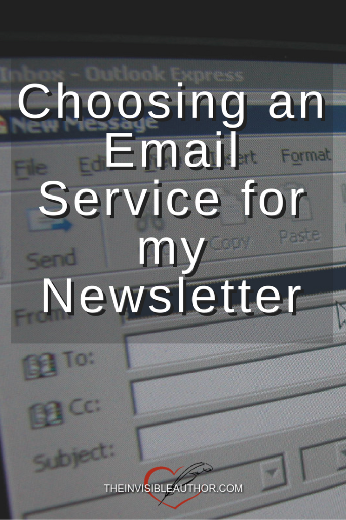 Choosing an Email Service for my Newsletter