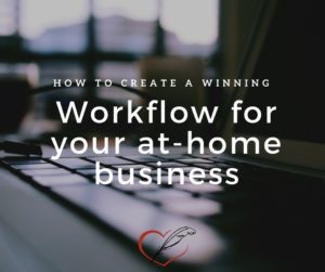 Clara Ryanne Heart: The Invisible Author - Create a Winning Workflow for your At-Home Business