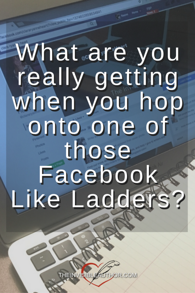 What are you really getting when you hop onto one of those Facebook Like Ladders?