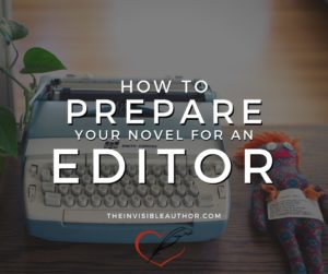 Clara Ryanne Heart: The Invisible Author - How to Prepare your Novel for an Editor