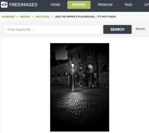 FreeImages screenshot for image search