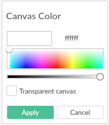 PicMonkey Canvas Color Screenshot