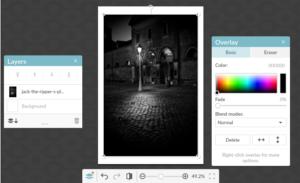 PicMonkey Editor Screenshot