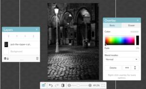 PicMonkey Adjust Photo Screenshot