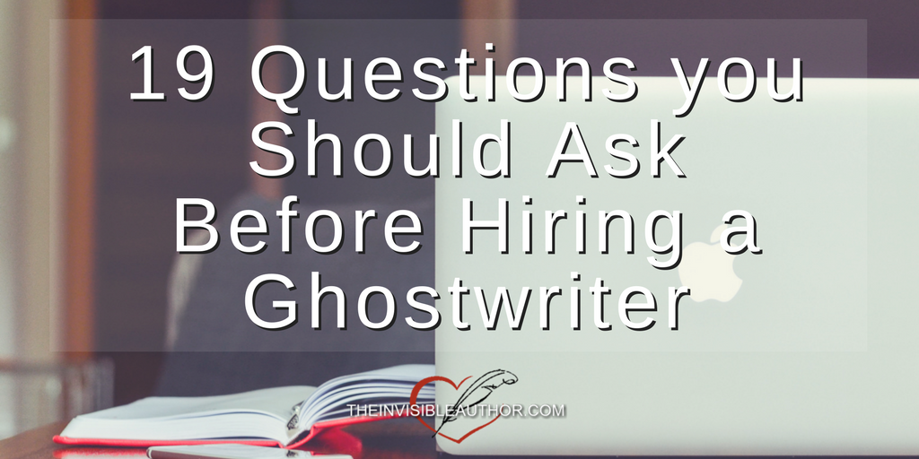 "how much is a ghostwriter If you're thinking about hiring a ghostwriter, undoubtedly one of your first questions is ""how much does it cost to hire a ghostwriter unfortunately, the answer."