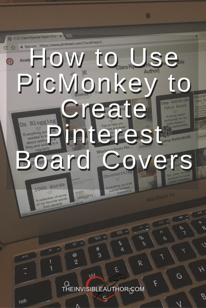 How to Use PicMonkey to Create Pinterest Board Covers