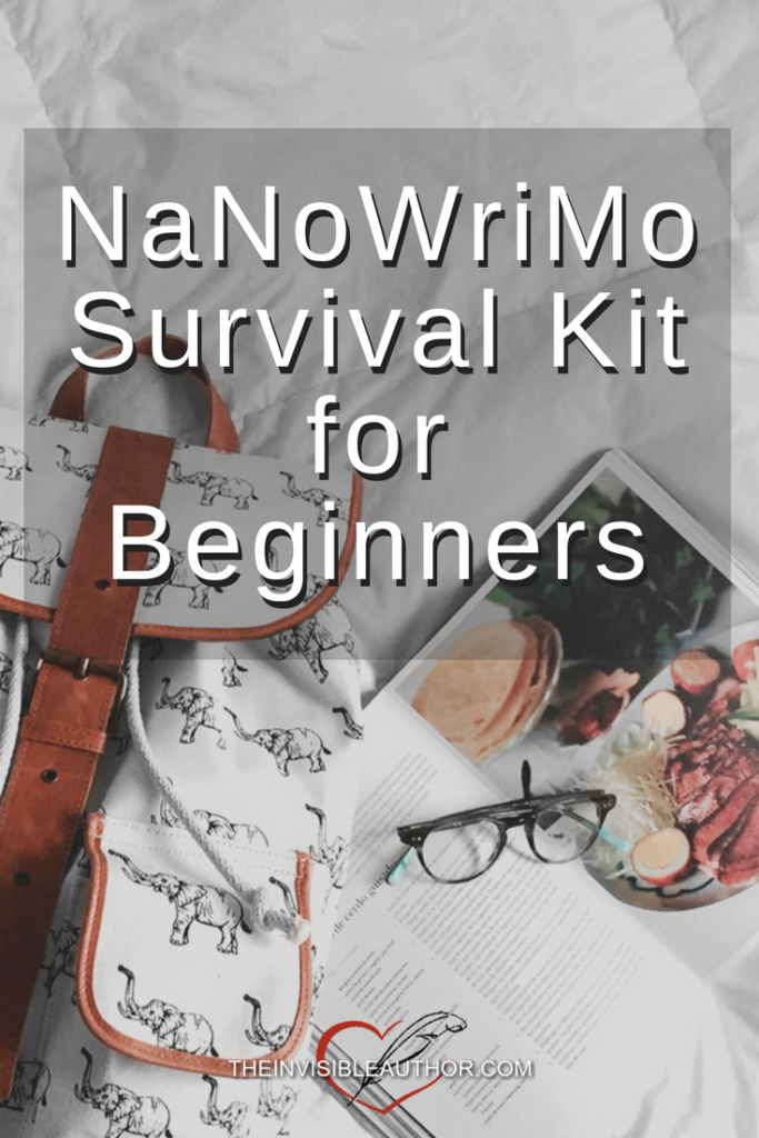 NaNoWriMo Survival Kit for Beginners