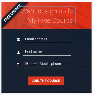 GetResponse Form Editor