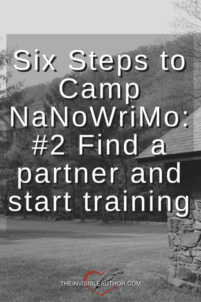 Six Steps to Camp NaNoWriMo: #2 Find a partner and start training