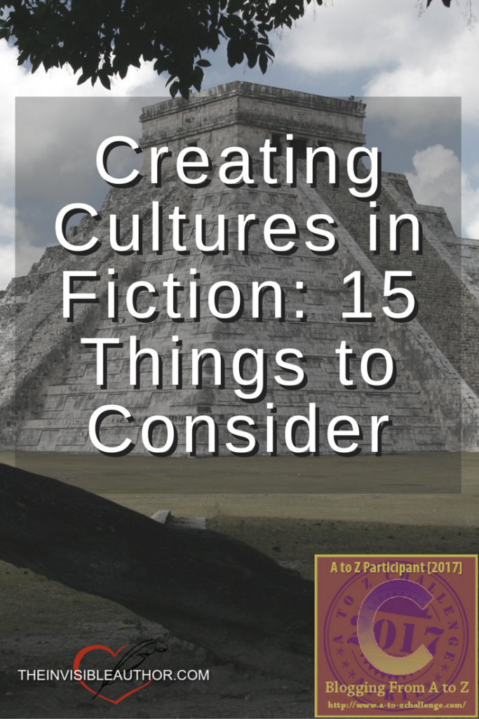 Creating Cultures in Fiction: 15 Things to Consider
