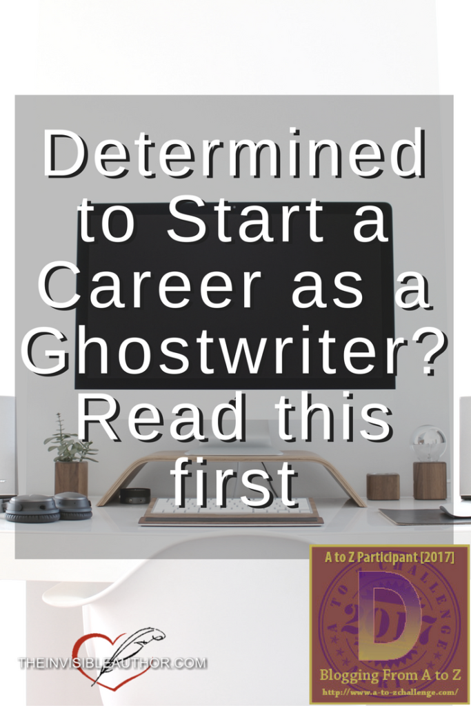 Determined to Start a Career as a Ghostwriter?