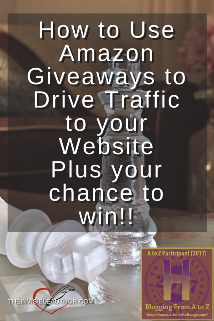 How to Use Amazon Giveaways to Drive Traffic to your Website